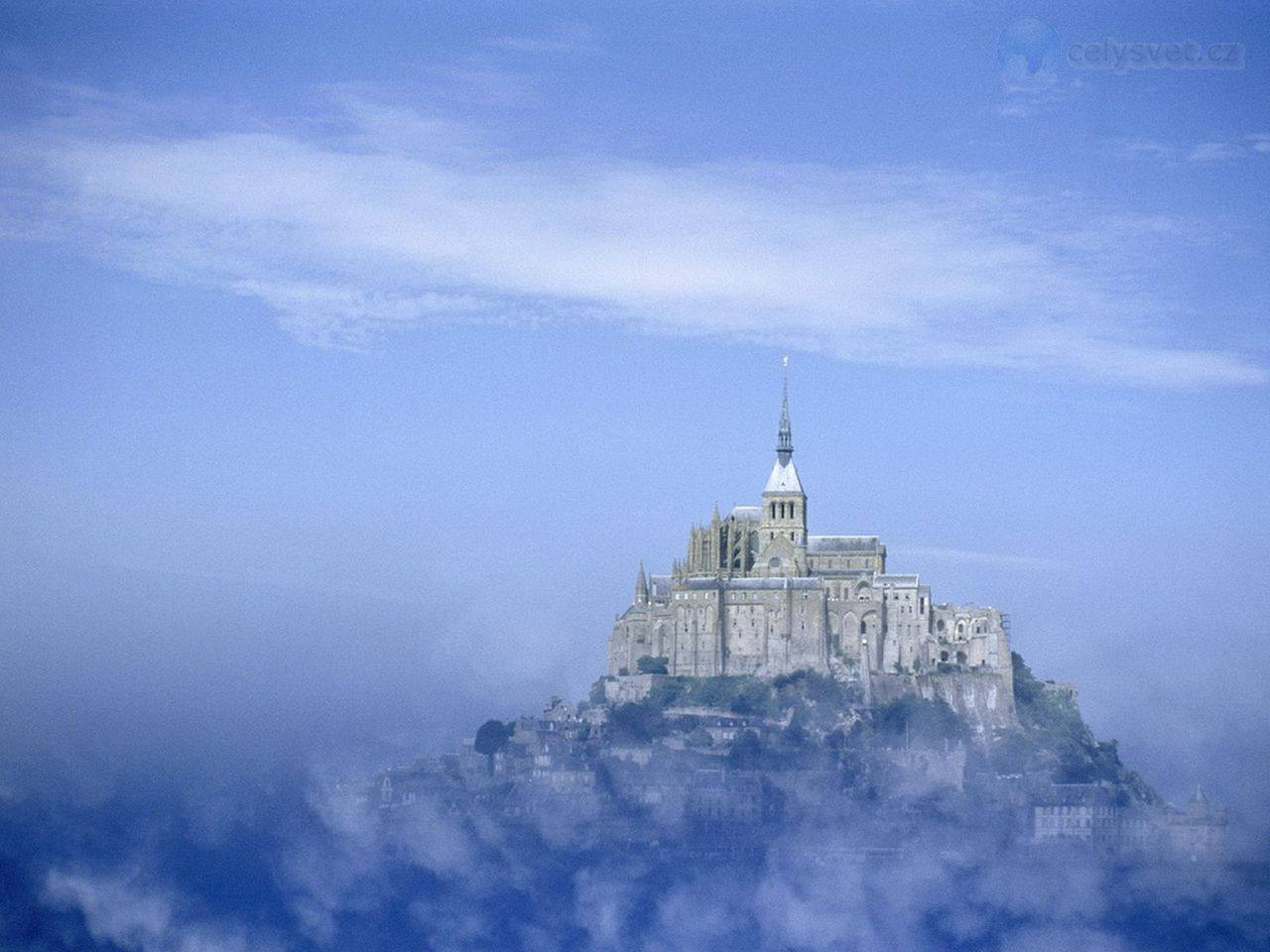 Мон-Сен-Мишель, Нормандия, Франция.