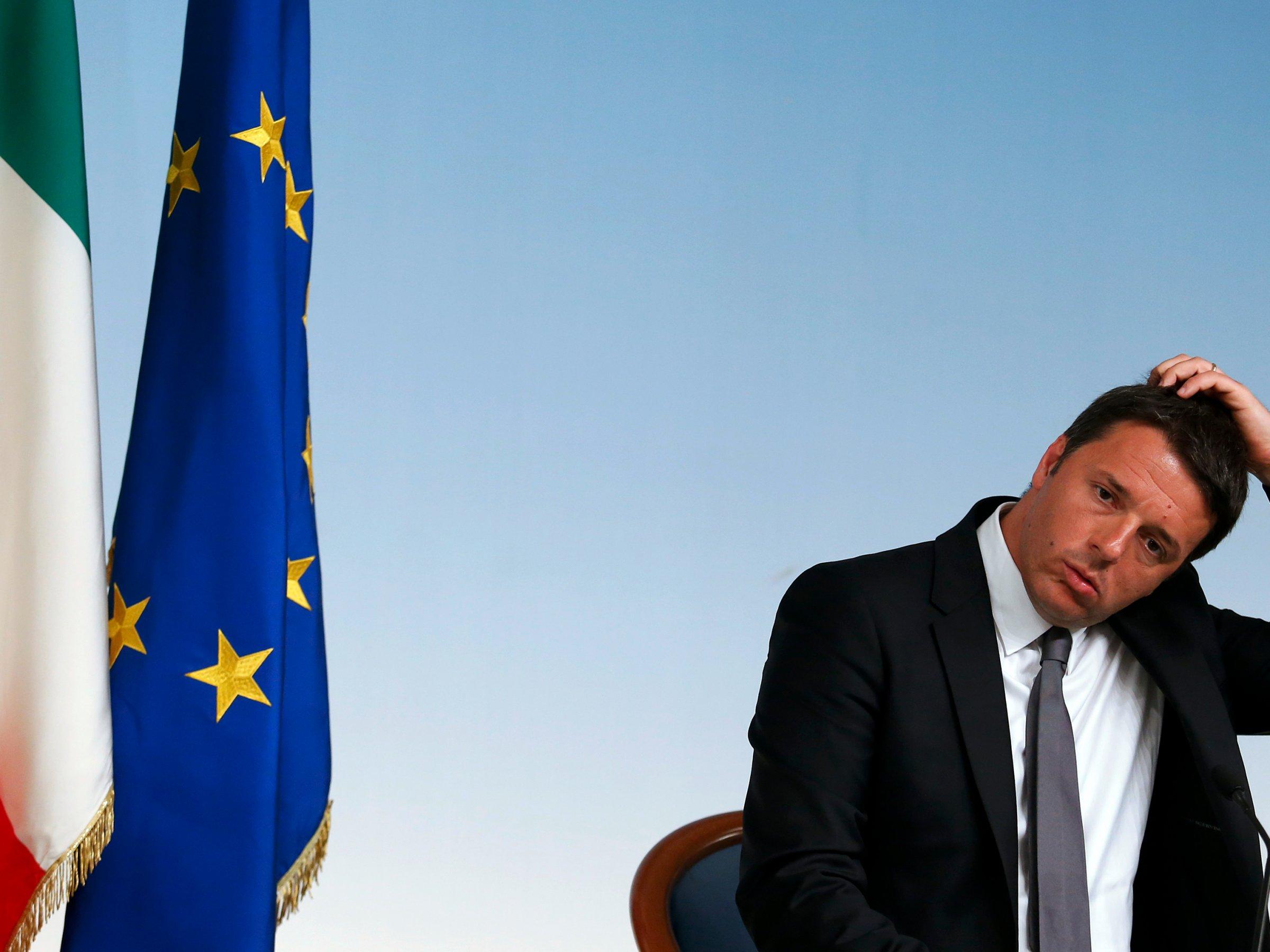 Итальянскому премьеру приходится задумываться о том, насколько далеко можно зайти в спорах с другими странами ЕС.
