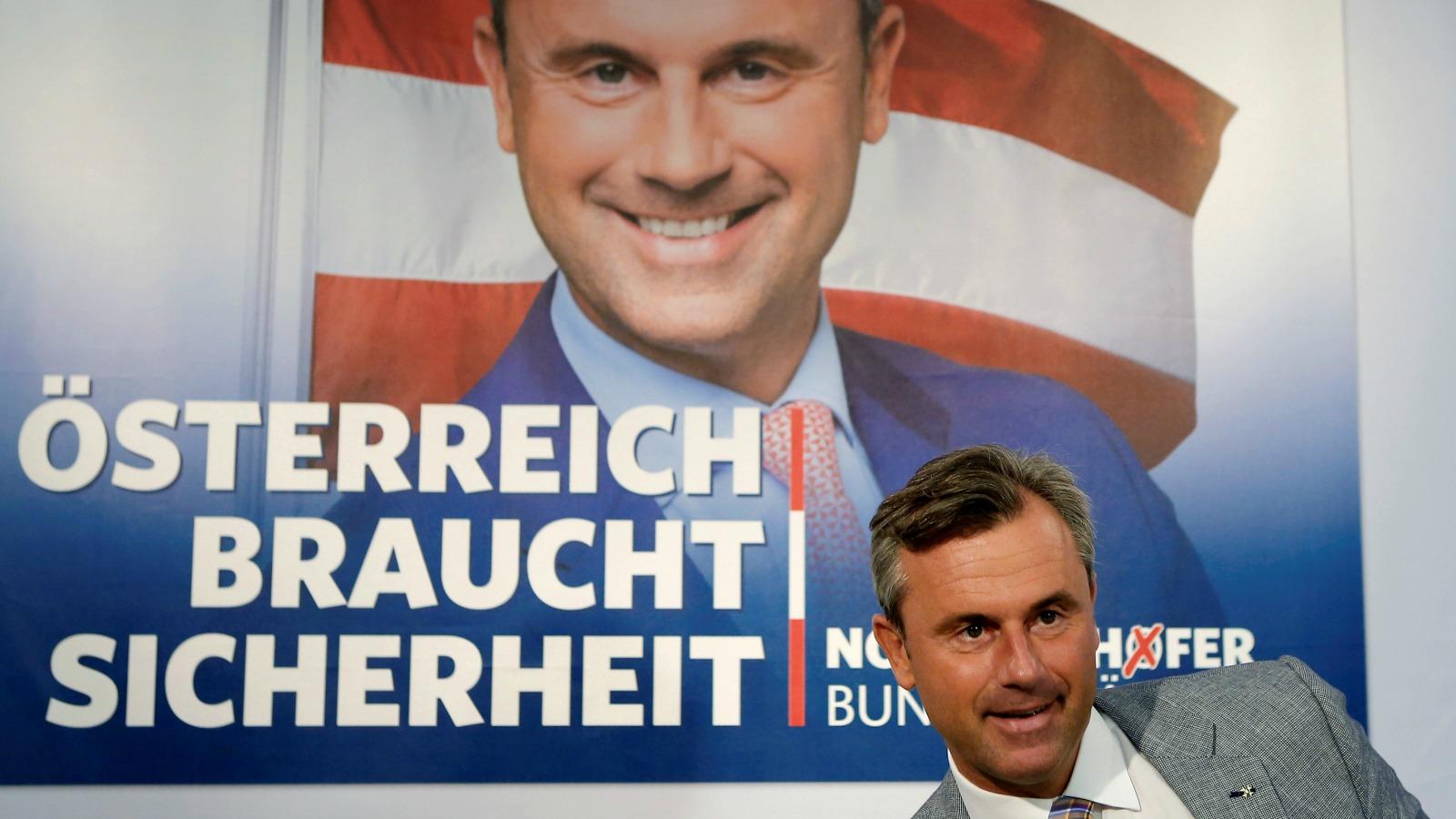 Норберт Хофер – фаворит президентских выборов, назначенных на 4 декабря 2016 года.
