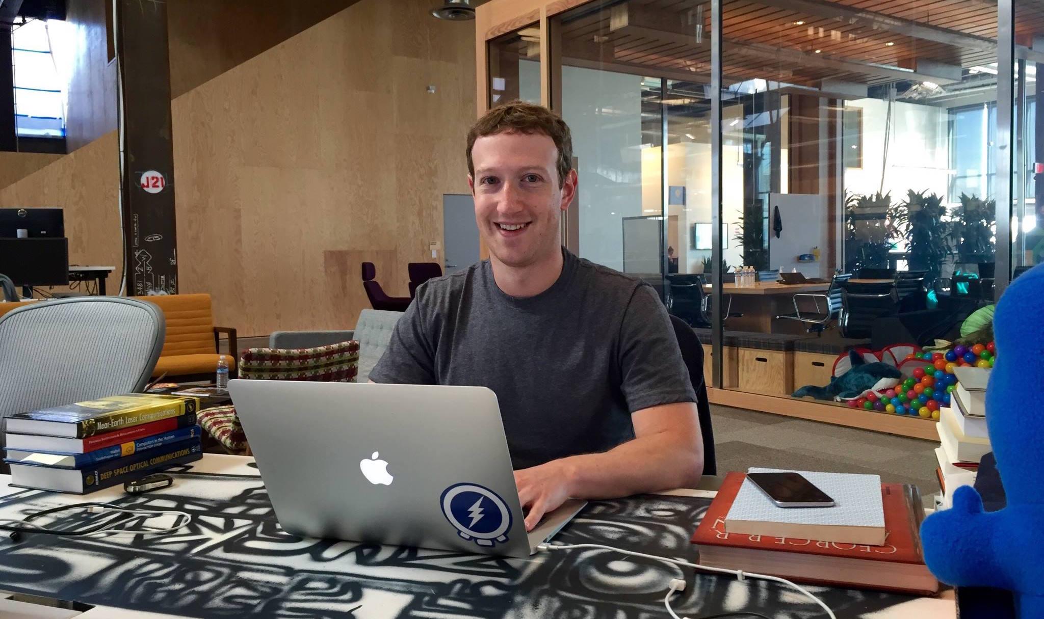 Марк Цукерберг с хорошим настроением откроет новую штаб-квартиру в Лондоне
