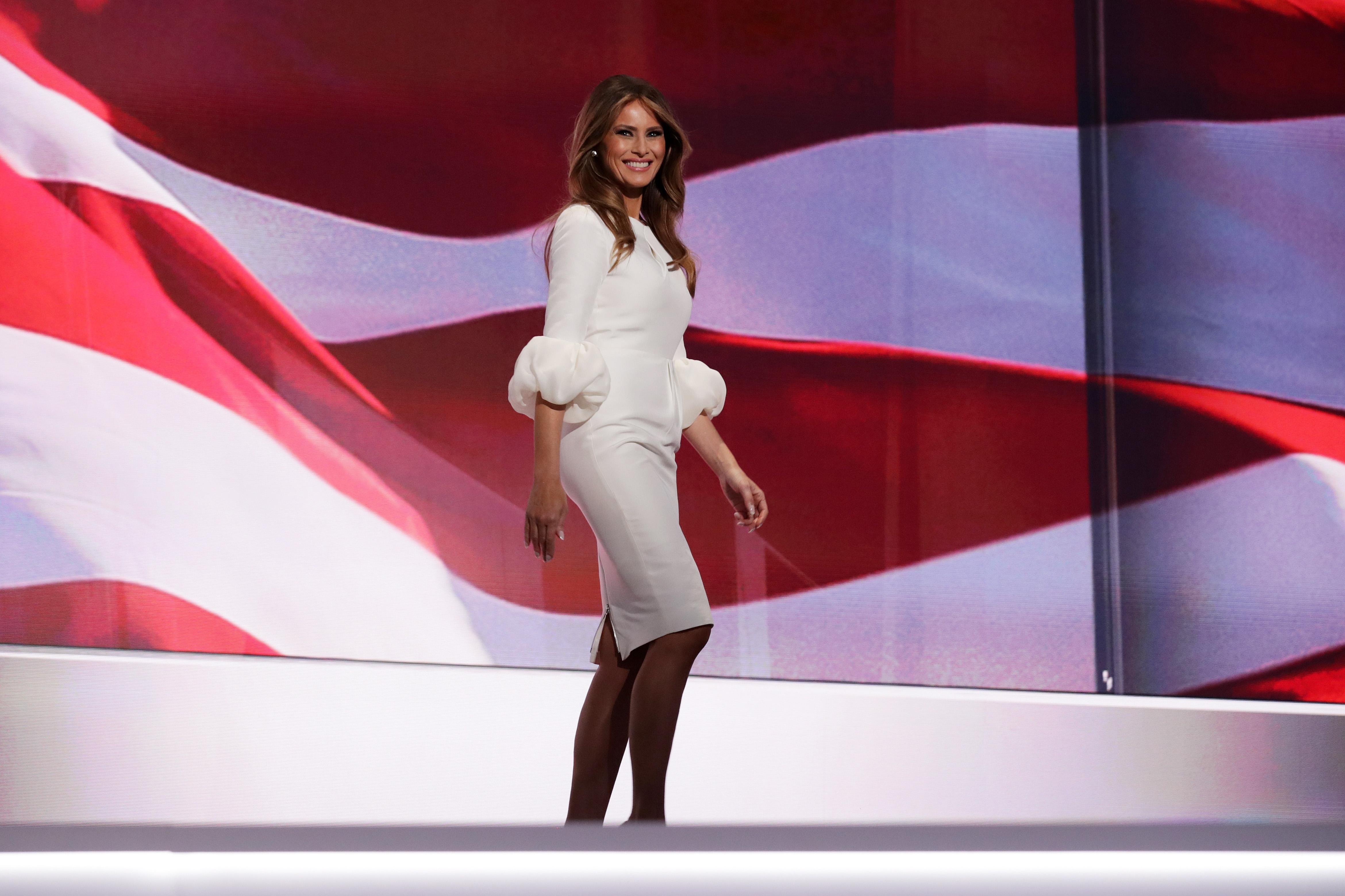 Она достойно участвовала в предвыборной кампании.