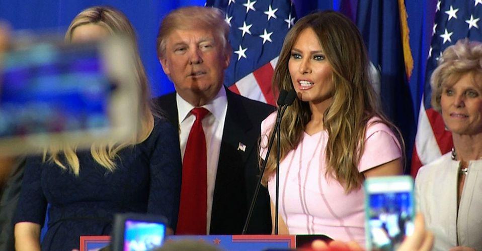 Мистер и миссис Трамп останутся яркими ньюсмейкерами