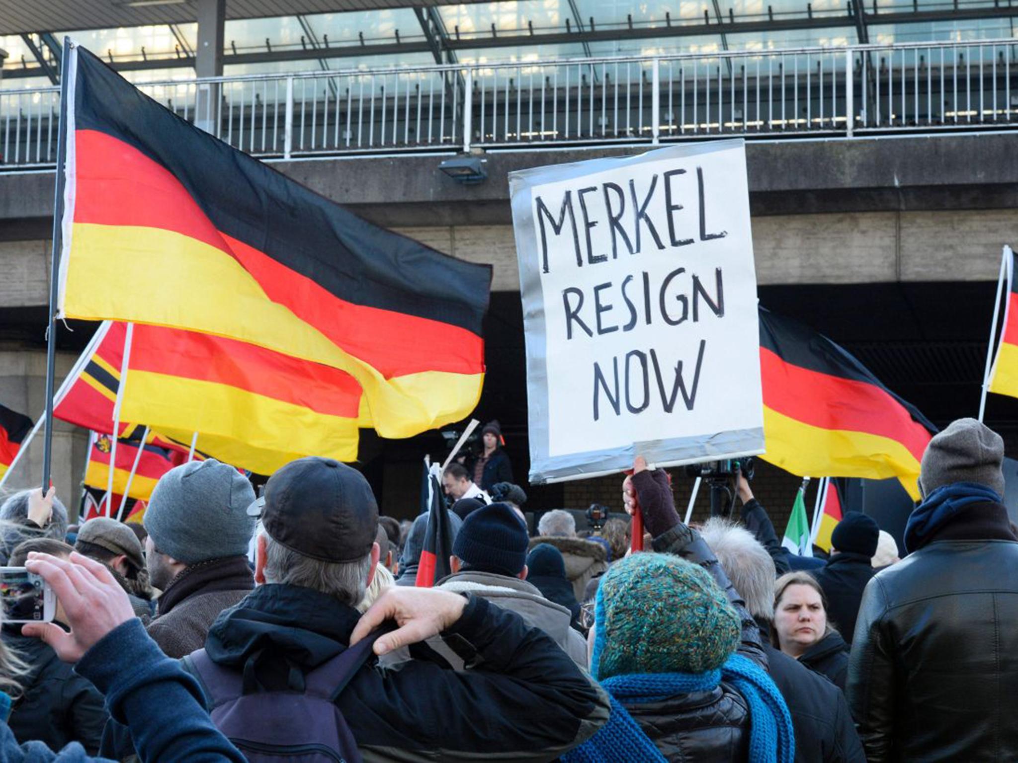 Принципиальная позиция Ангелы Меркель по поводу миграционной политики вызвала отторжение значительной части германского общества.