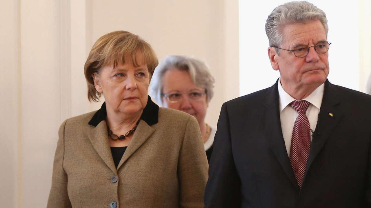 Для Йоахима Гаука и Ангелы Меркель настало время непростых решений.