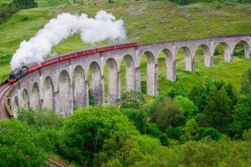 Виадук Гленфиннан – мост Гарри Поттера.