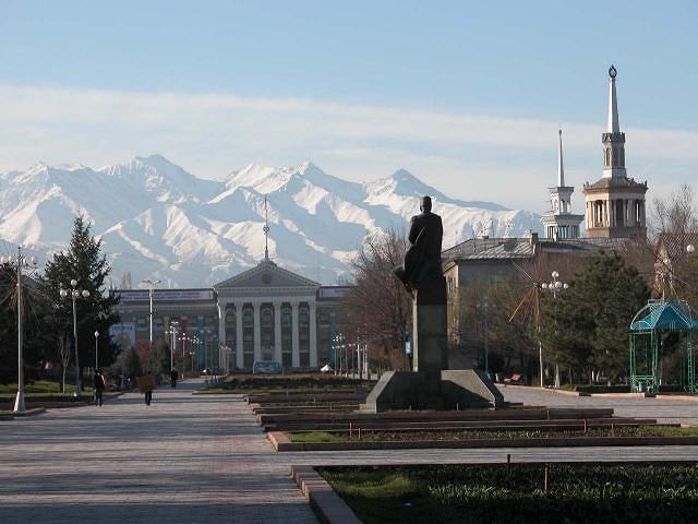 Бишкек. Источник http://www.weather7forecast.com/