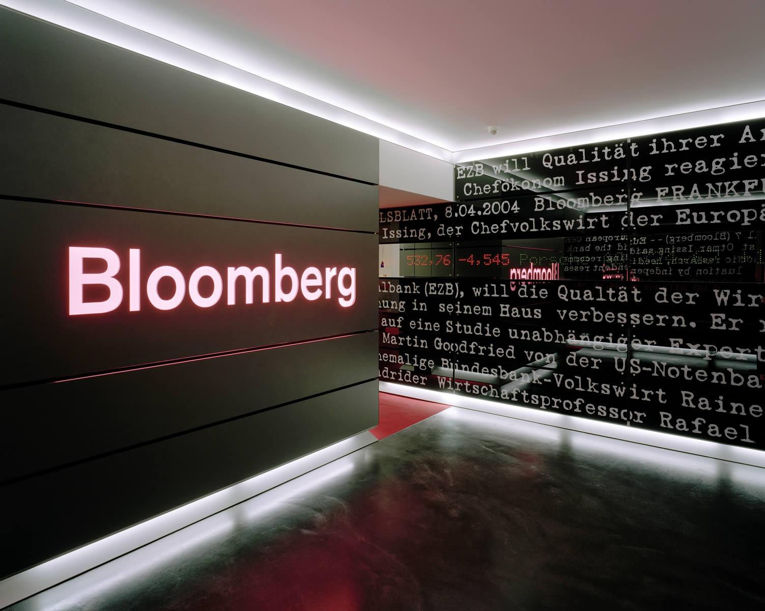 Компьютеры Bloomberg оценивают риски ежедневно