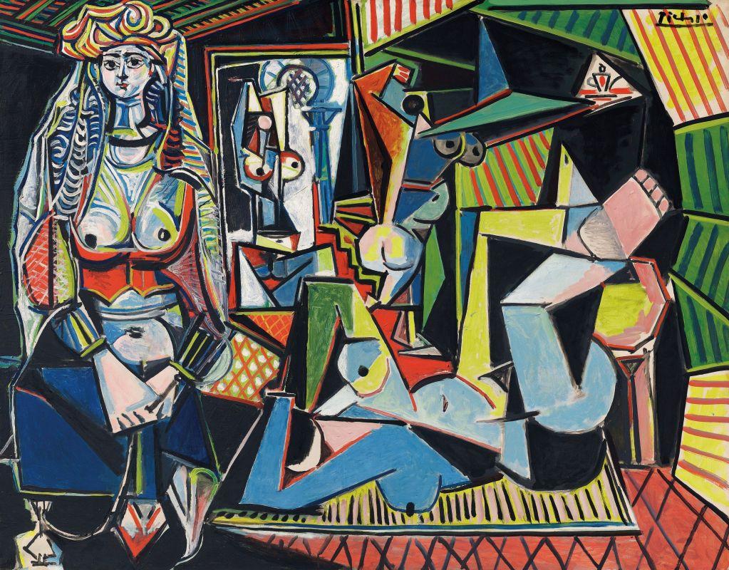 Пабло Пикассо. Алжирские женщины (версия О). 1955. Масло, холст. 114х146,4 см. Частная коллекция, Доха.