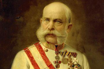Император Франц Иосиф. Портрет 1914 года.