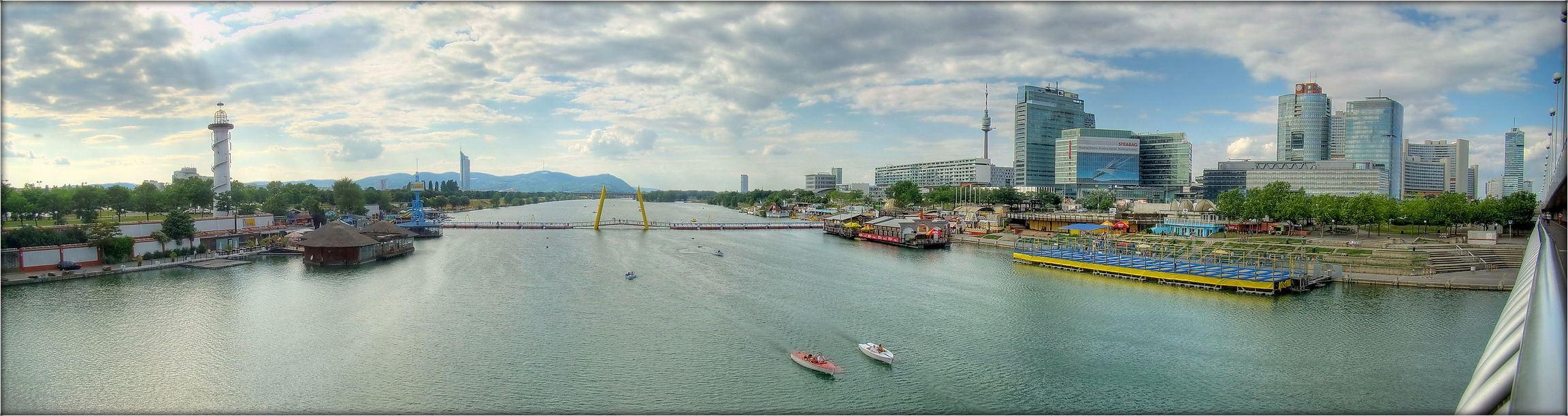 Дунай в районе Новой Вены.