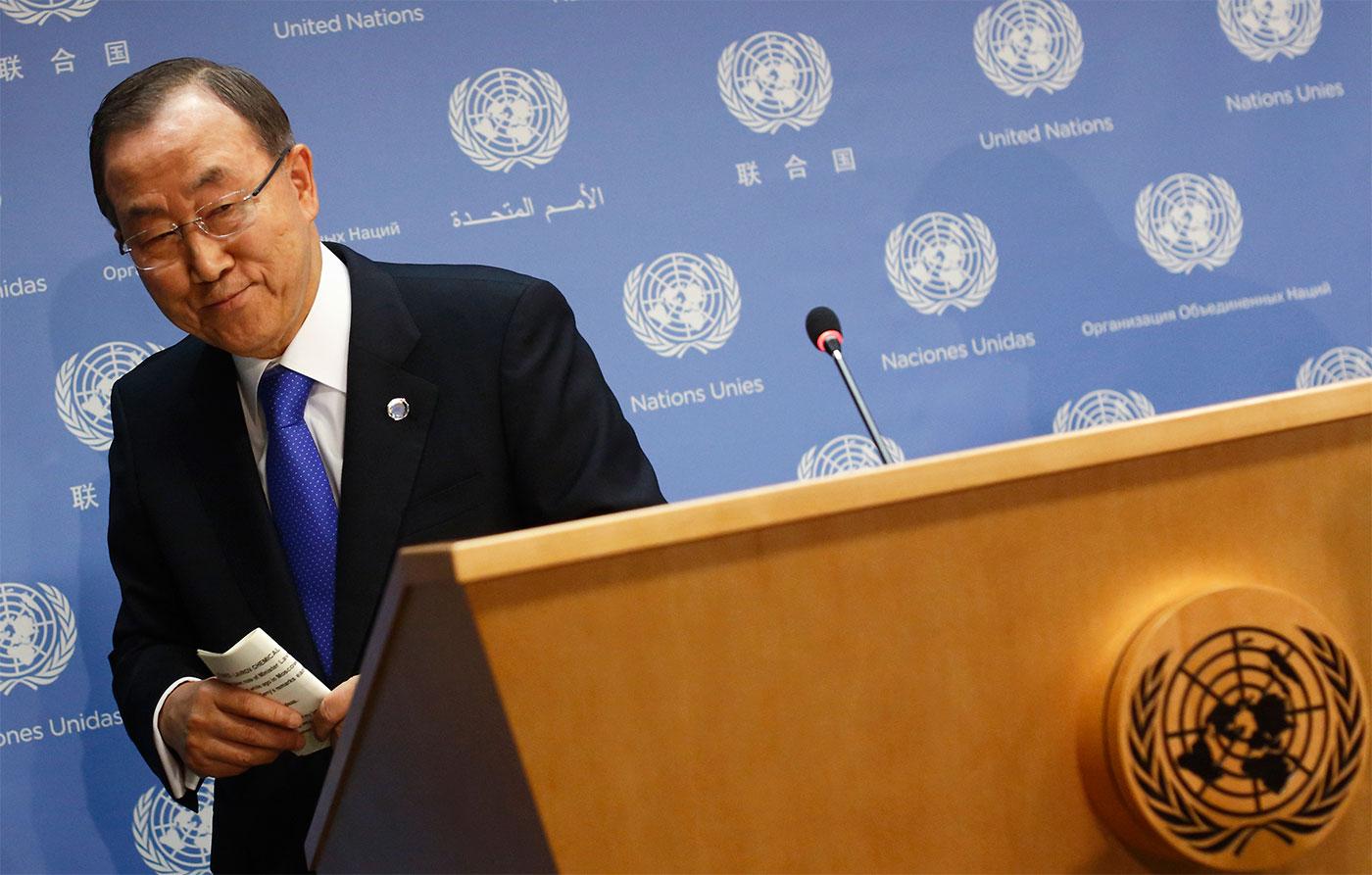 Уходящего Пан Ги Муна нельзя назвать ярким лидером, оставившим след в истории. Источник http://russiancouncil.ru/