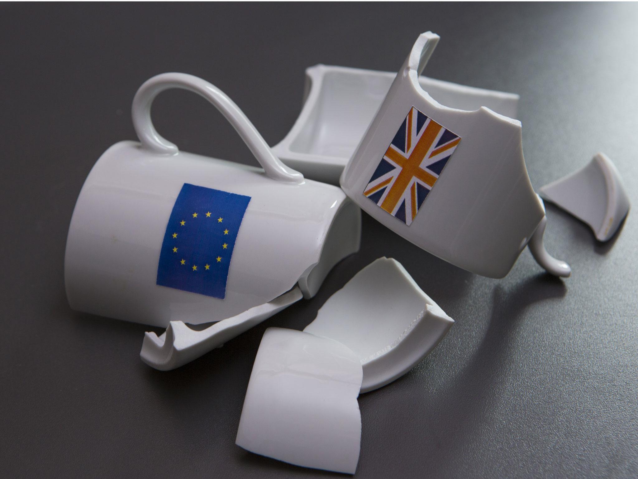 Самые популярные фото и карикатуры на тему брексита. Источник: http://www.independent.co.uk