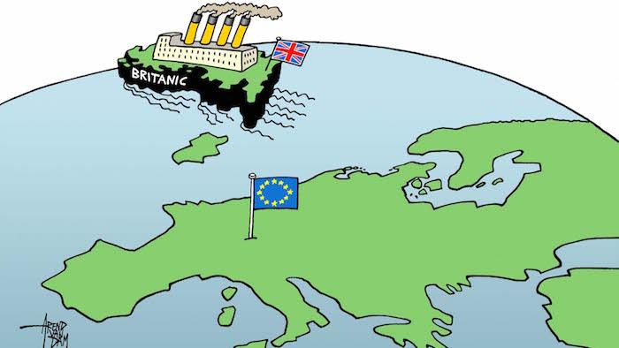 Самые популярные фото и карикатуры на тему брексита. Источник: http://www.voxeurop.eu/en