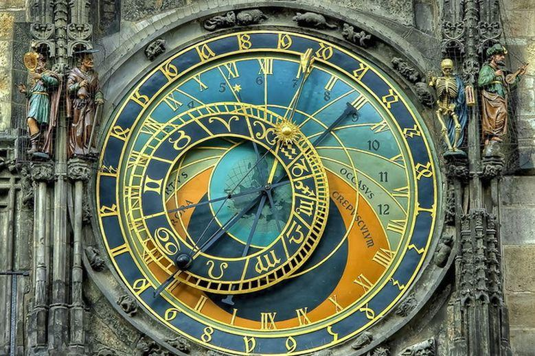 Астрономические часы Орлой. Староместская площадь. Ратуша. Источник http://zlatapraha.net/