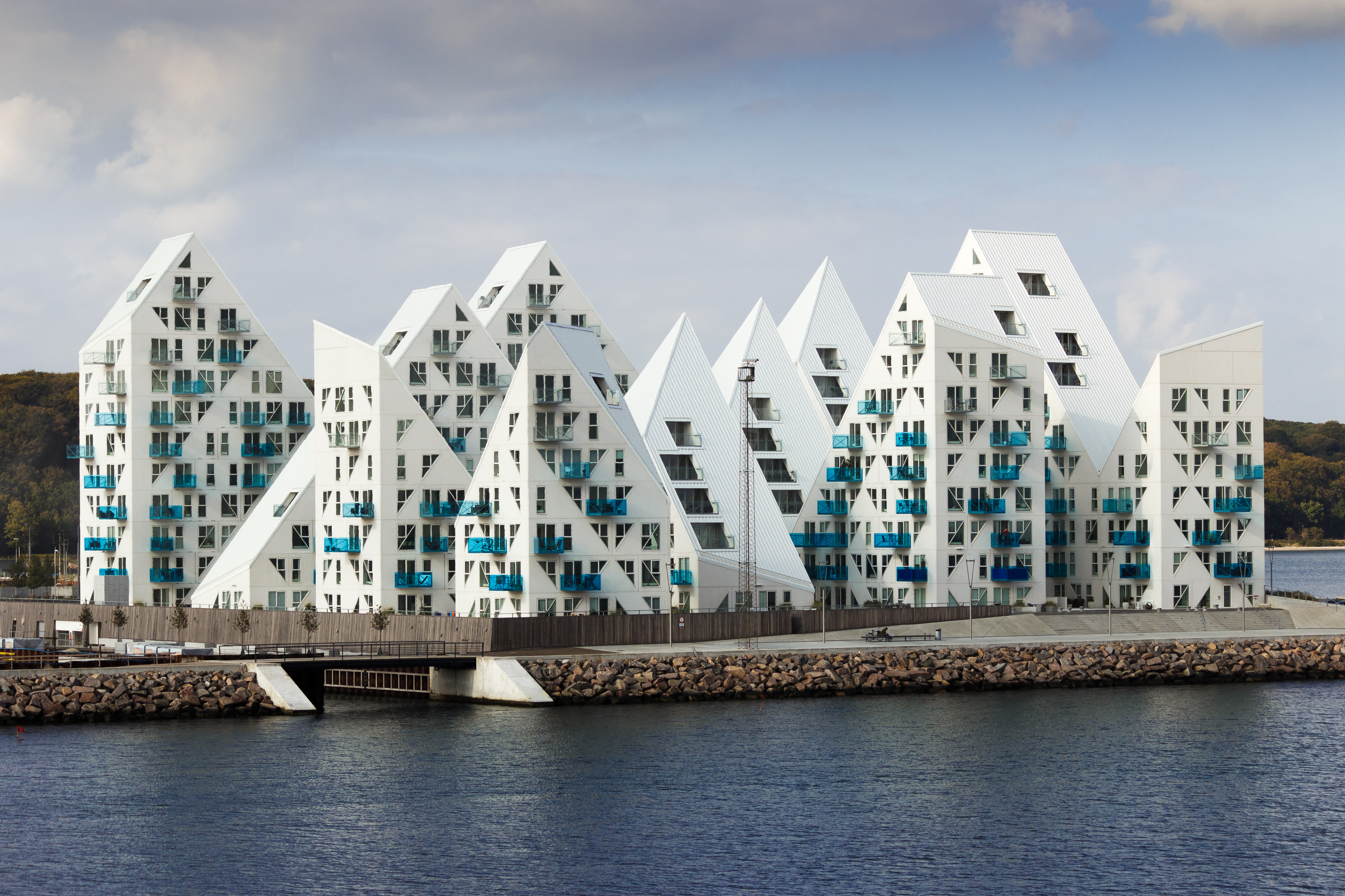 Жилой дом «Айсберг» – архитектурная визитная карточка Орхуса.