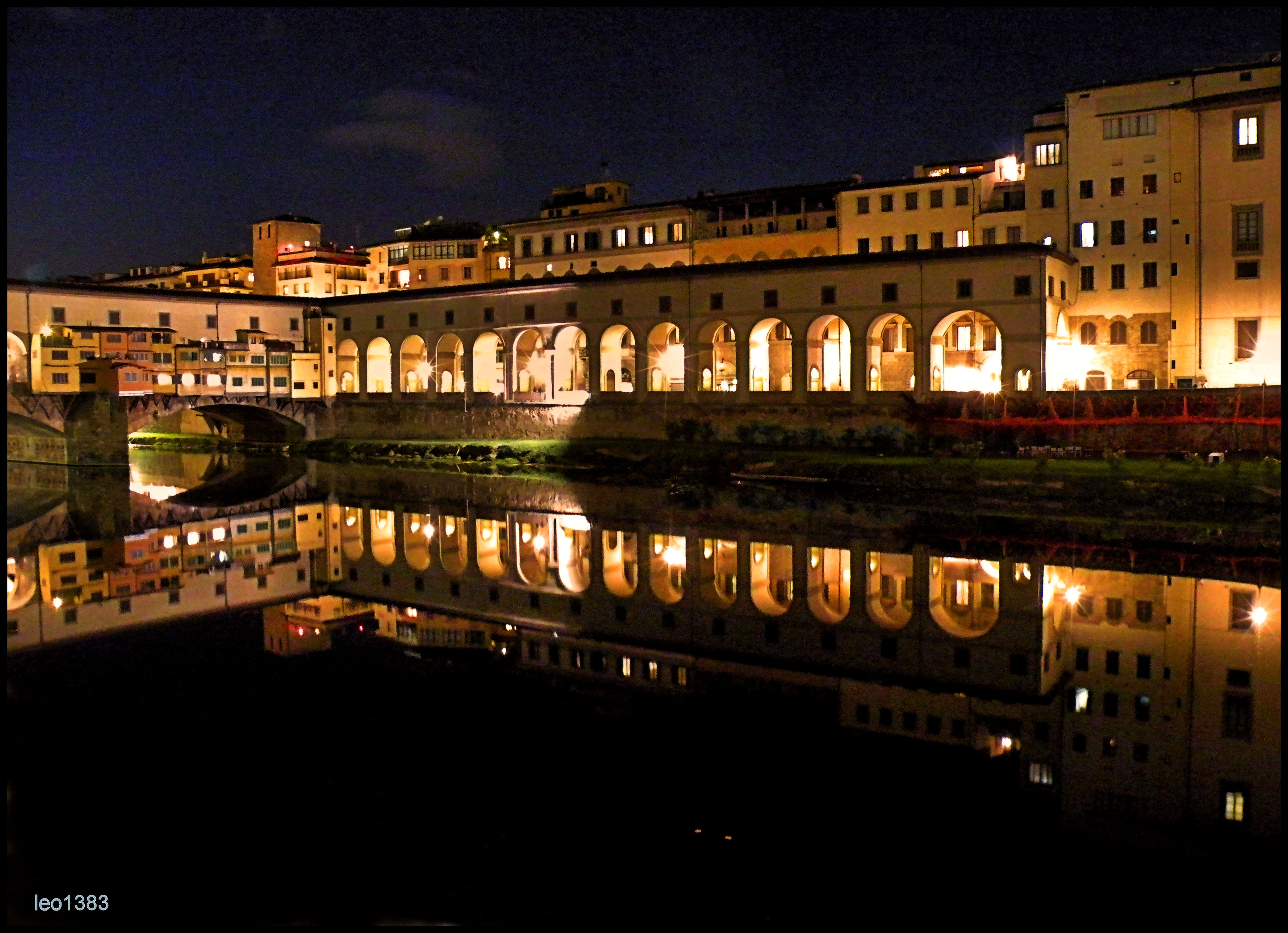 Участок коридора на берегу реки Арно. Источник http://static.panoramio.com/