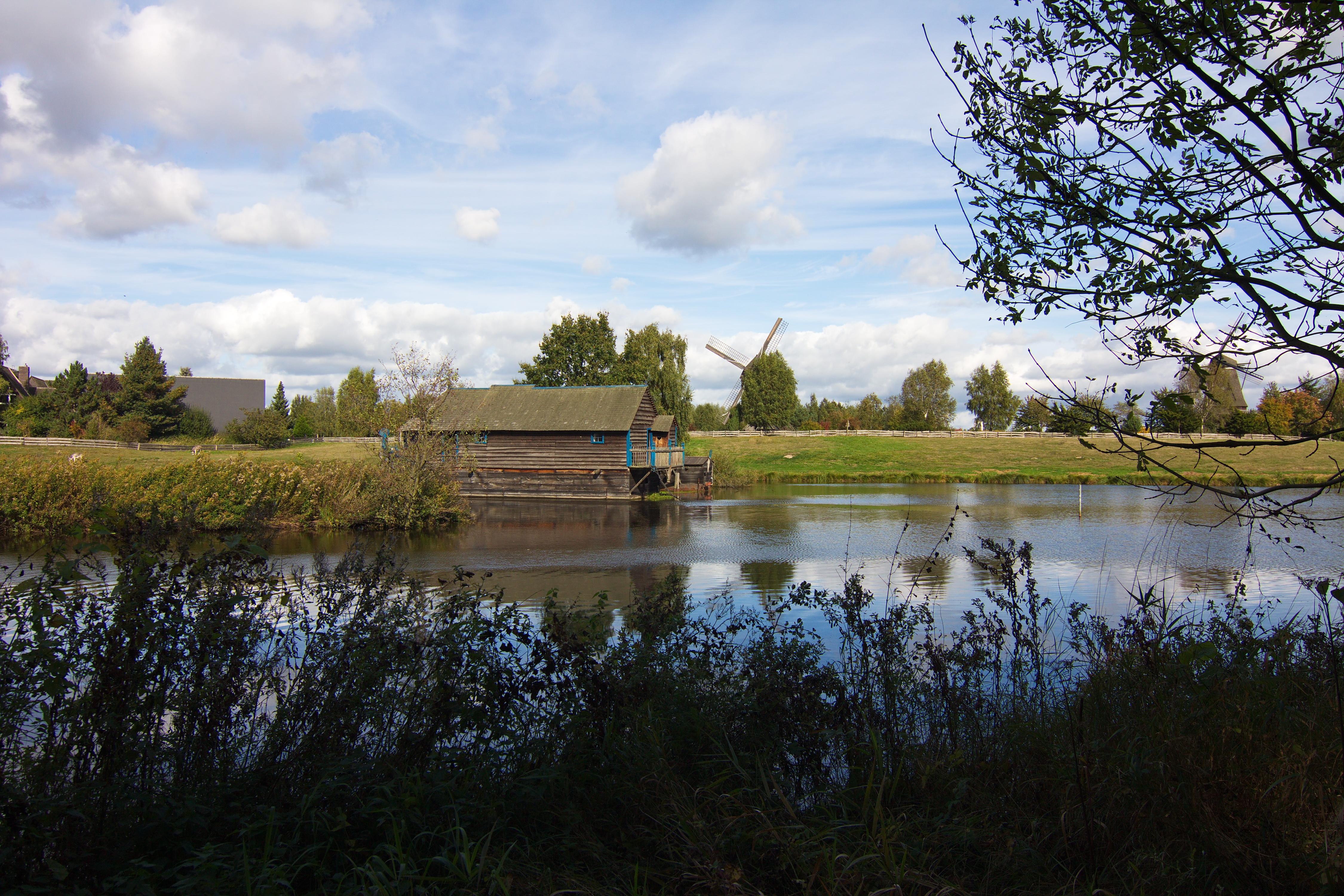 Международный музей ветряных и водяных мельниц в городе Гифхорн, Германия. Источник https://upload.wikimedia.org/