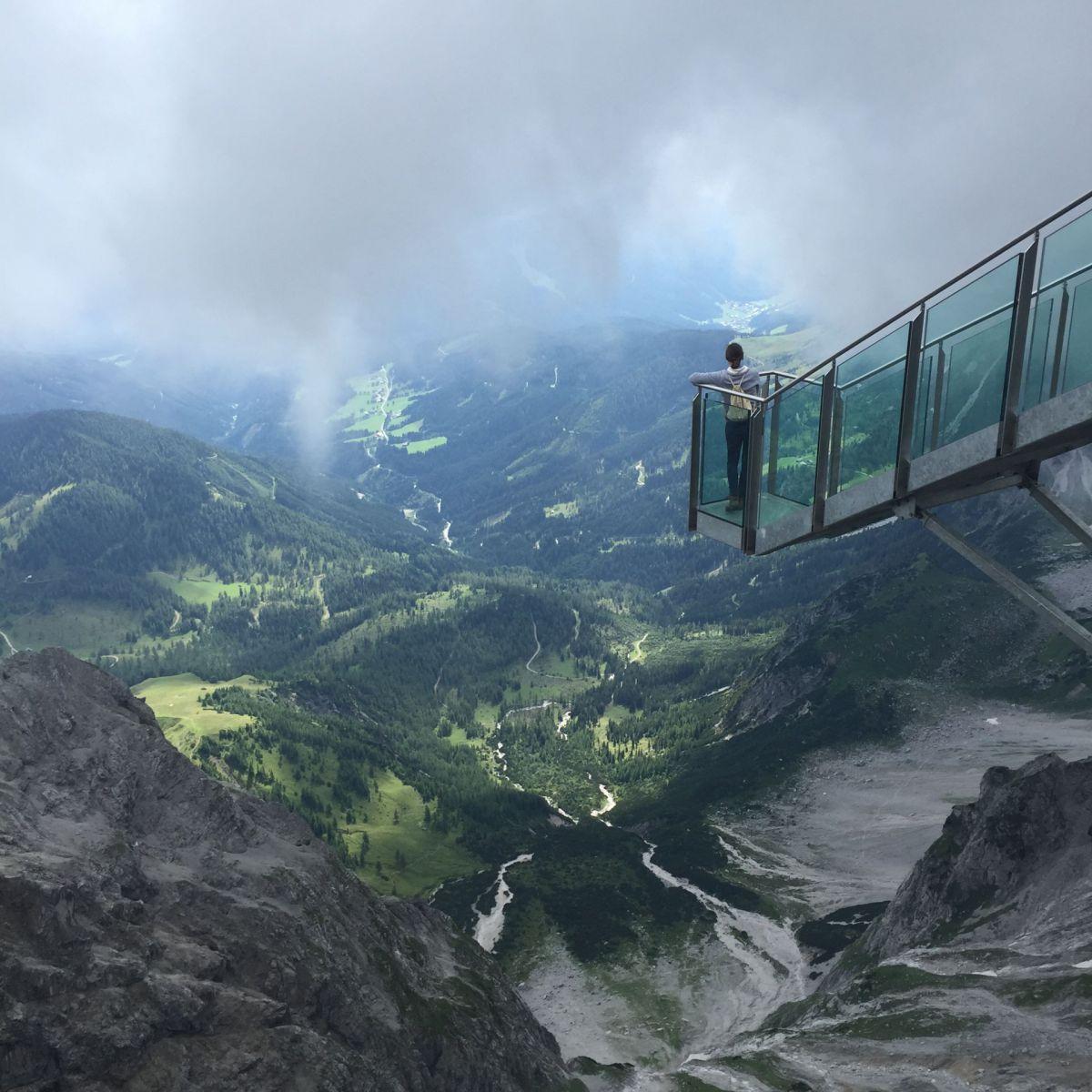 Увидеть Альпы с гор Дахштайн. Источник https://www.exito.de/