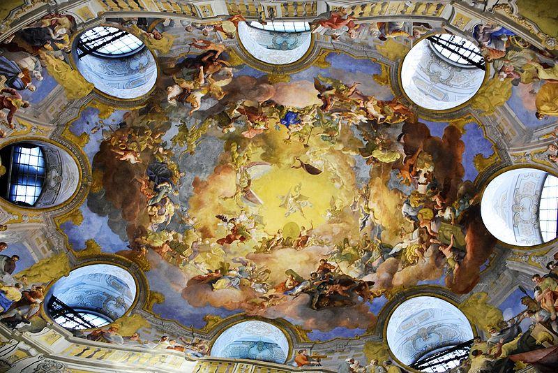 Роспись потолка Государственного зала Источник https://commons.wikimedia.org/