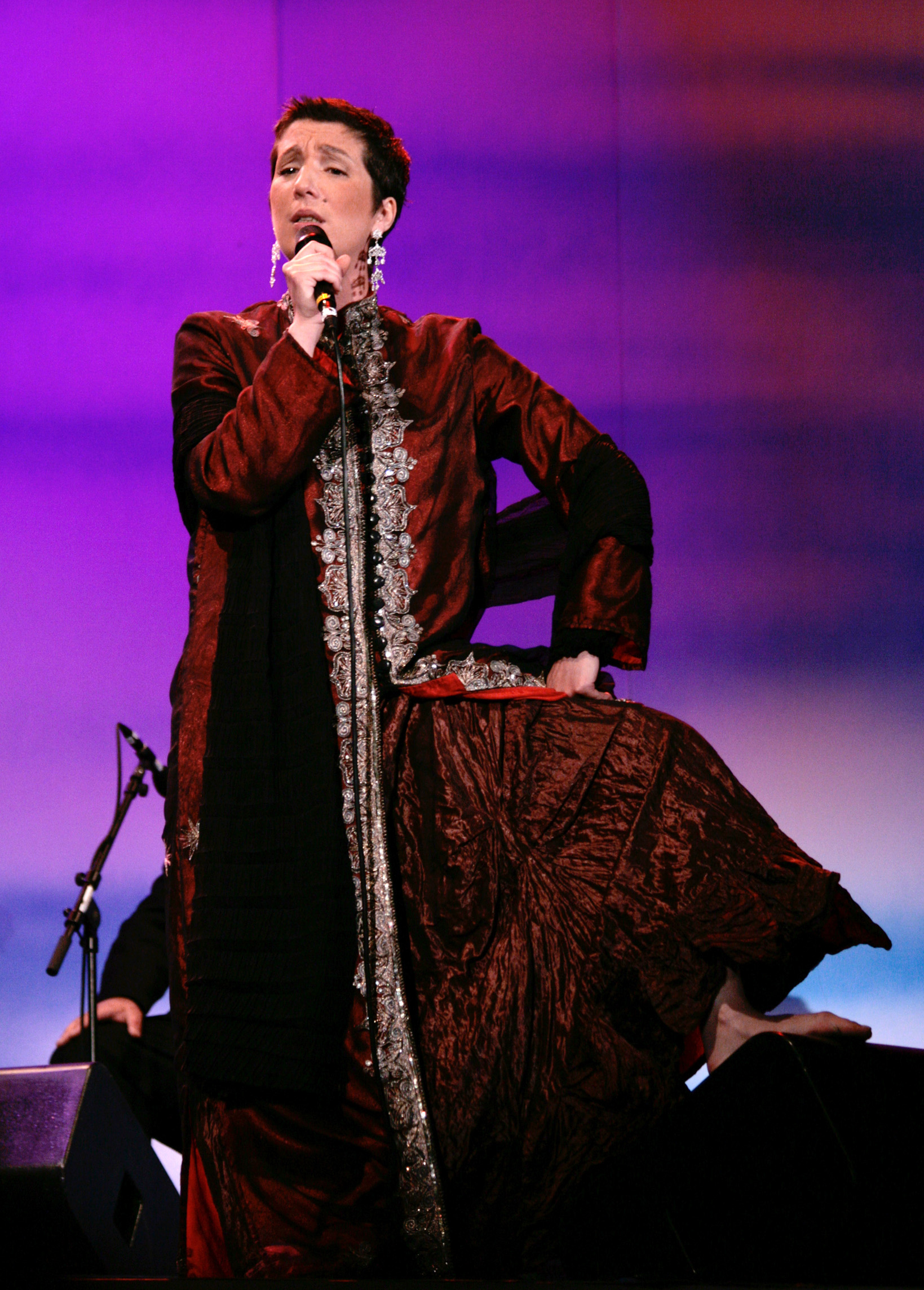 Фадишта Дулсе Понтеш выступает в Вене, 2009. Источник https://upload.wikimedia.org/
