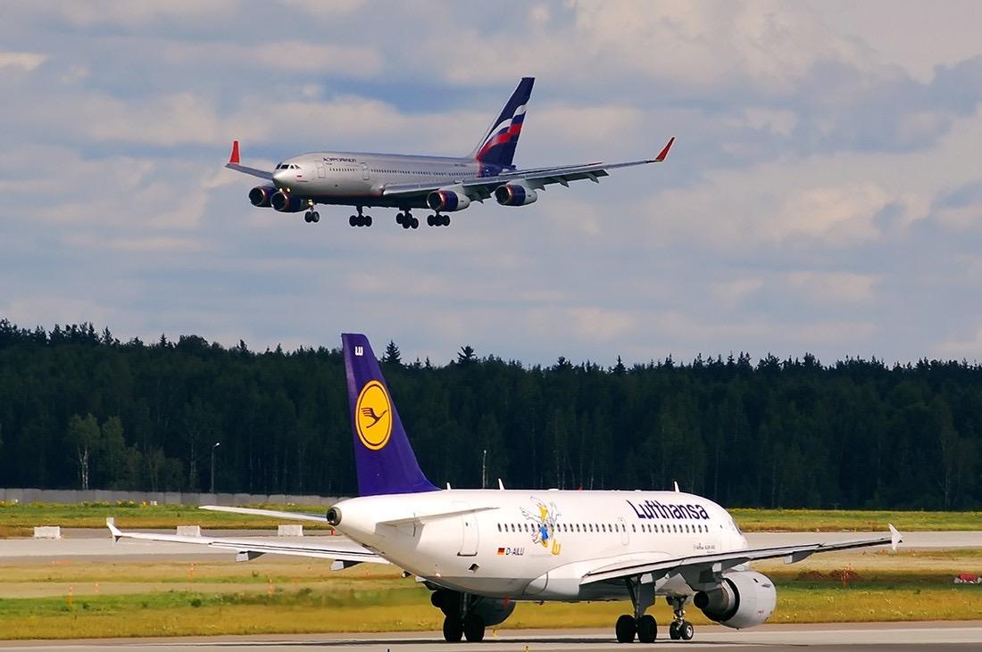 Российские авиакомпании будут меньше летать в европейские страны, а Lufthansa отменила 23 тысячи рейсов по всему миру. Источник: Прейхайм