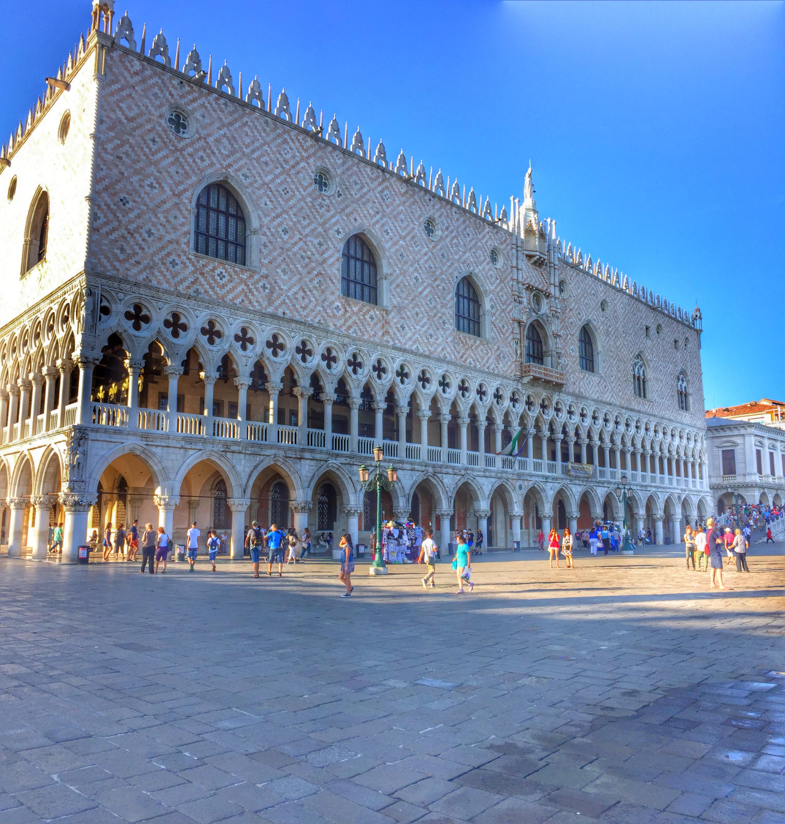 Венеция. Дворец дожей. Источник иллюстрации: Викимедиа