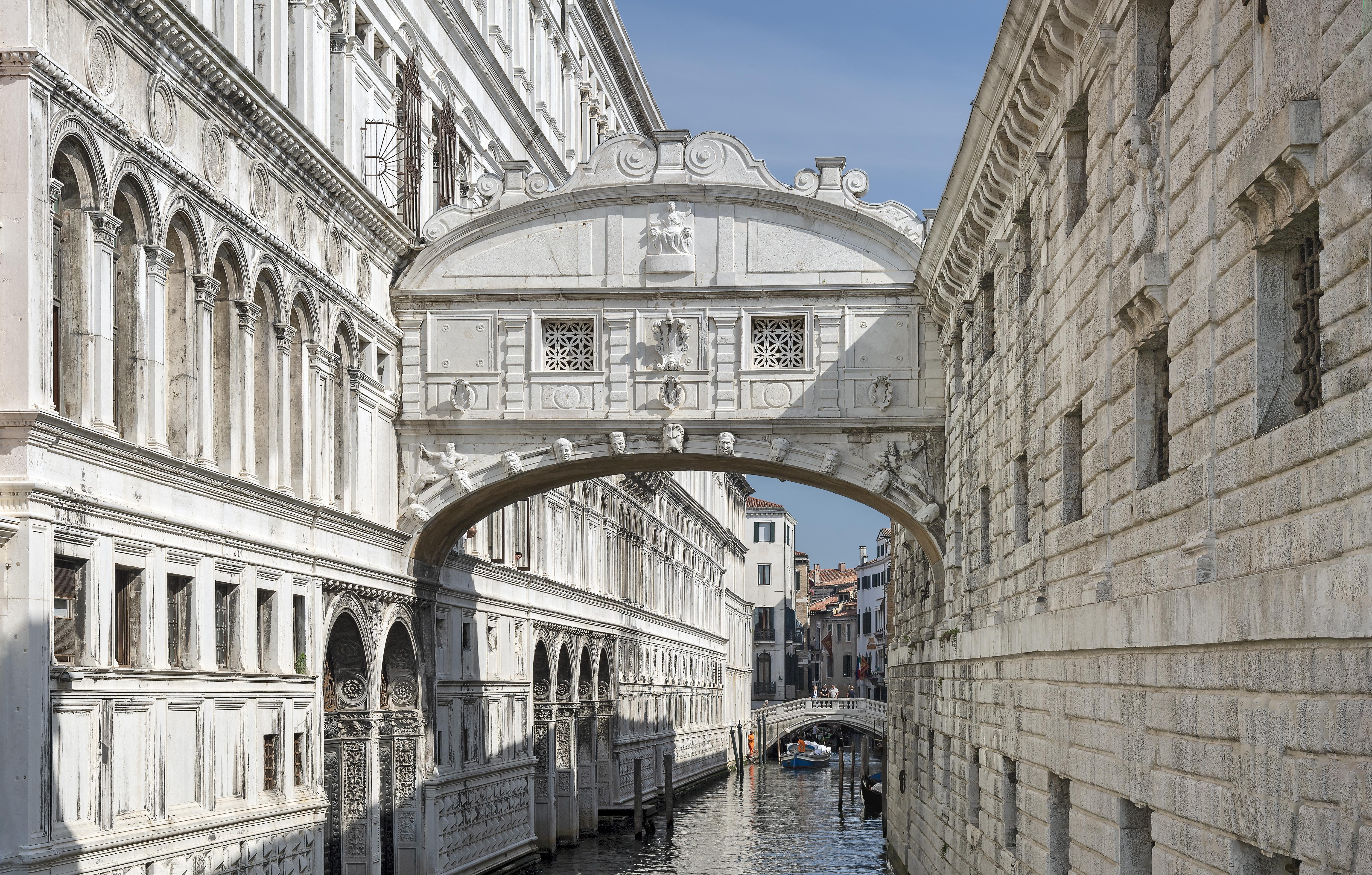 Венеция. Мост вздохов. Источник иллюстрации: Викимедиа