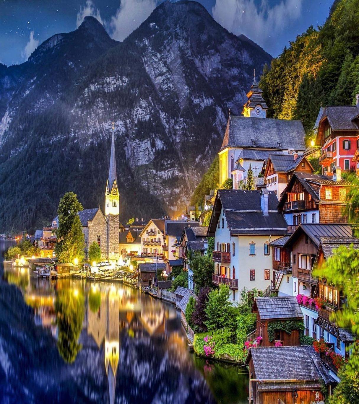 Хальштатт, Австрия. Фото Флориан Ольбрехтс
