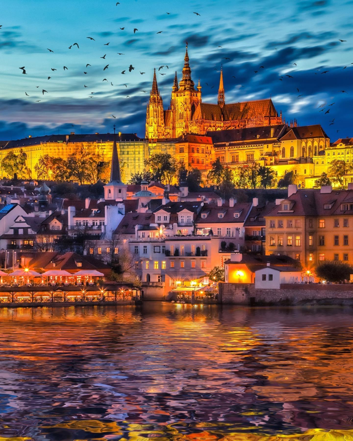 Прага, Чехия. Фото Флориан Ольбрехтс