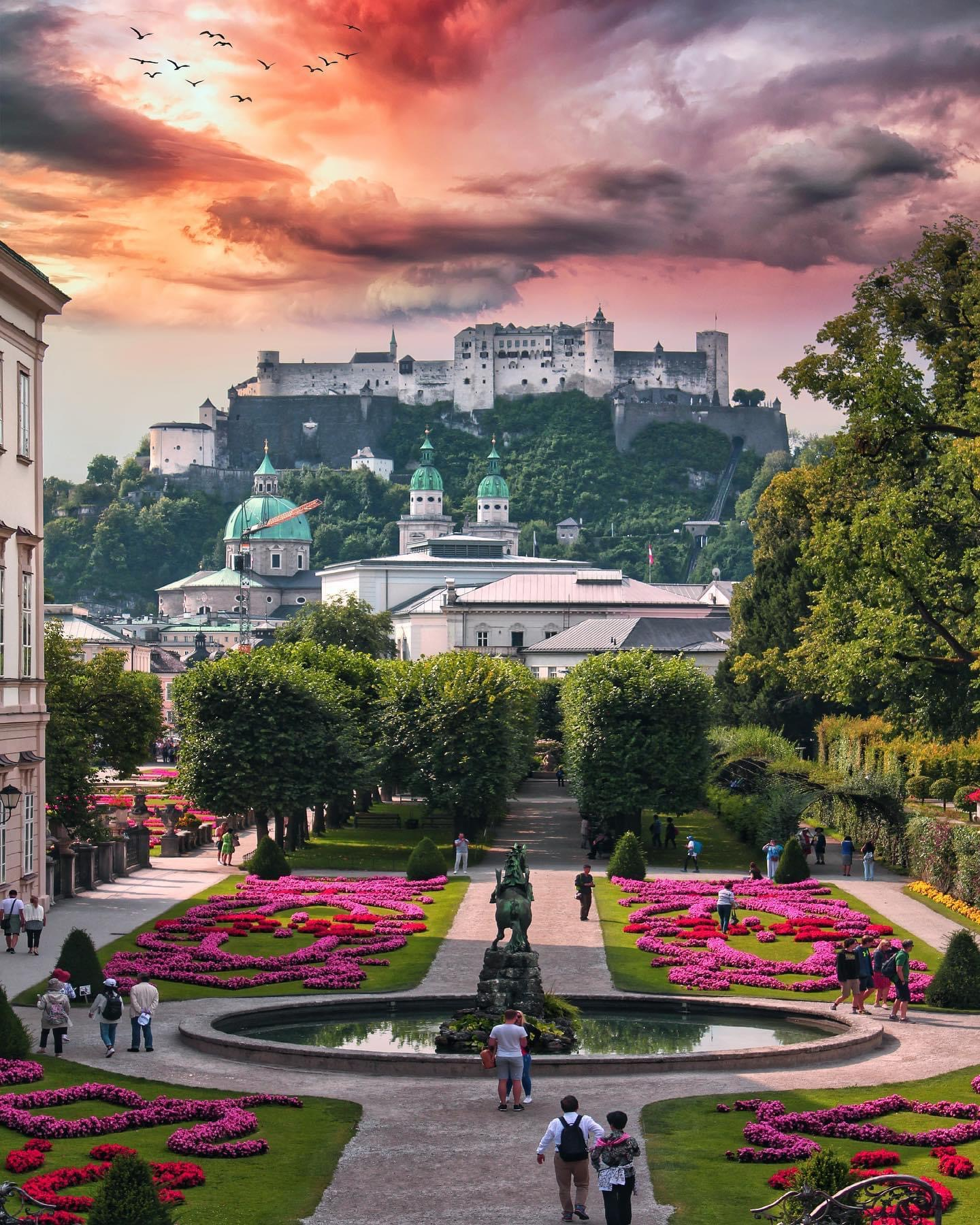 Зальцбург, Австрия. Фото Флориан Ольбрехтс