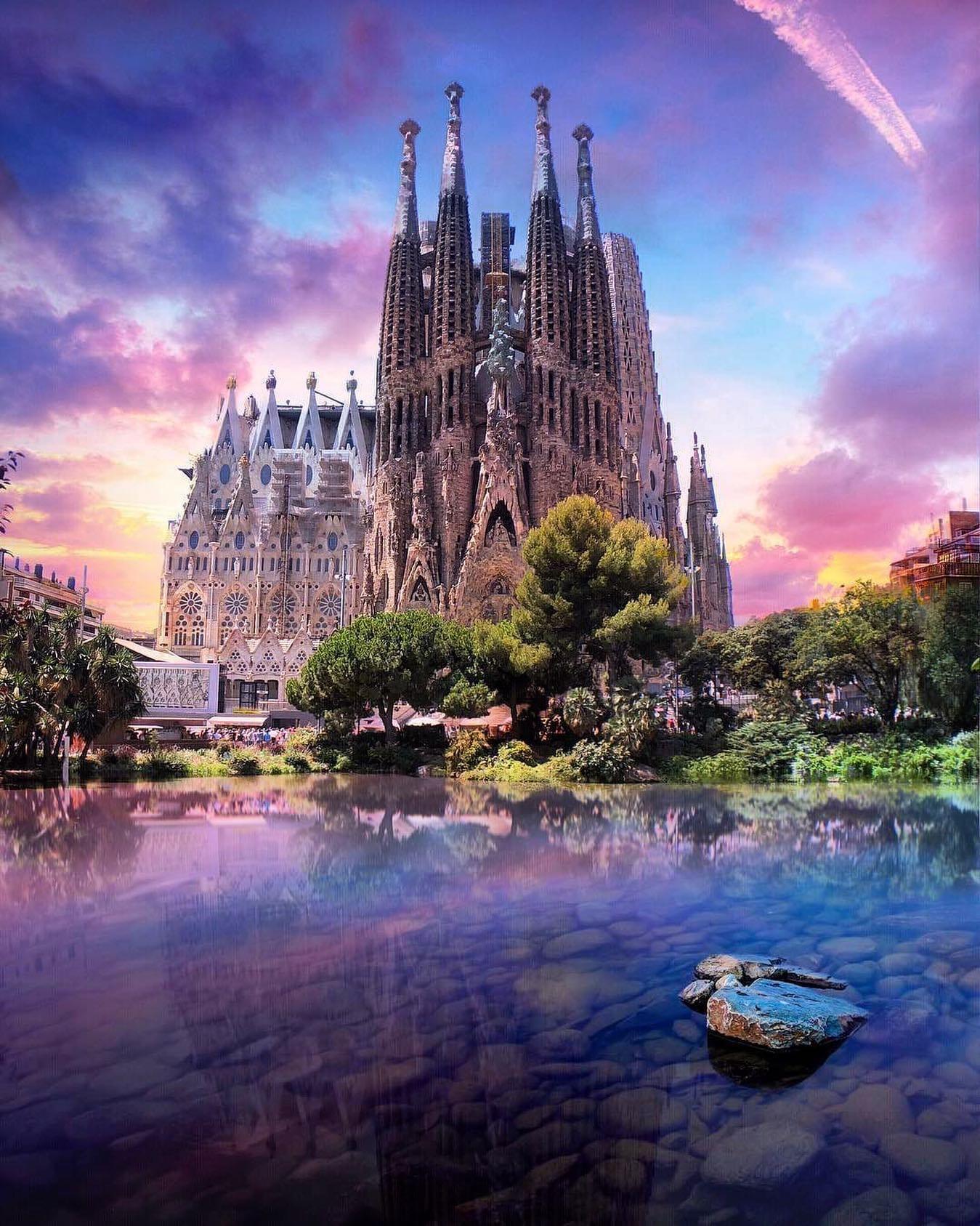Барселона, Испания. Фото Флориан Ольбрехтс