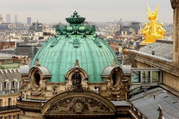 Крыша Оперы Гарнье. Источник http://travelask.ru/