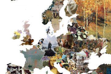 Художественная карта Европы. https://i.redditmedia.com/