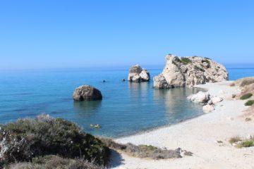Скала Петра-ту-Ромиу, Кипр. Источник https://1.bp.blogspot.com/