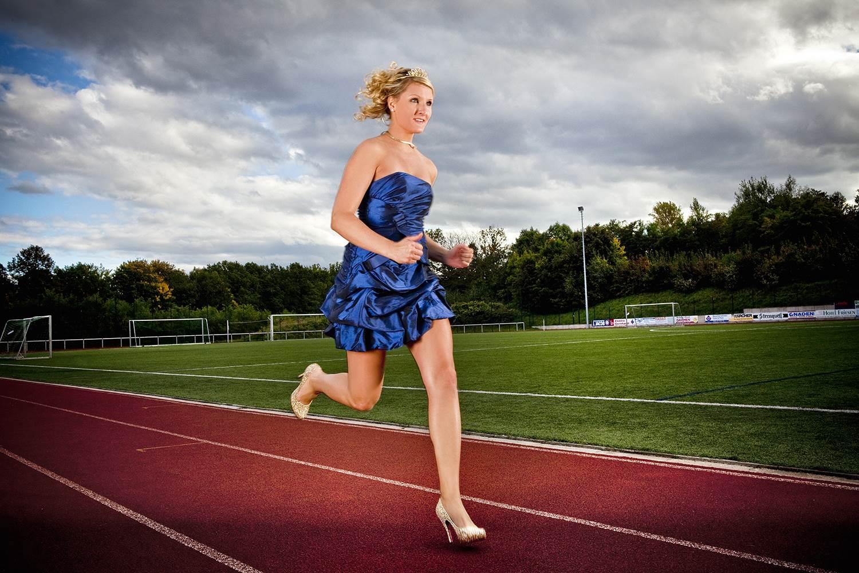 Джулия Плечер на дорожке. Источник http://media1.s-nbcnews.com