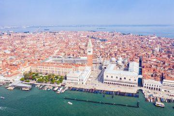 Венеция. Вид на площадь Сан-Марко и Дворец дожей. Источник иллюстрации: Викимедиа