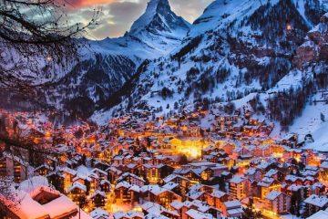 Церматт, Швейцария. Фото Флориан Ольбрехтс
